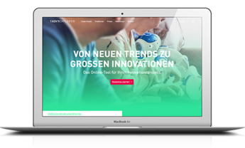 Website für den Trendexplorer