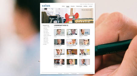 Neue Website für Solon Management Consulting