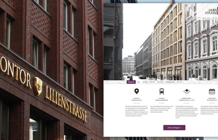 Responsive Onepage-Website und Advertising für die Flower Office GmbH & Co. KG