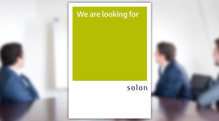 Design-Update der Recruiting-Materialien für Solon Management Consulting