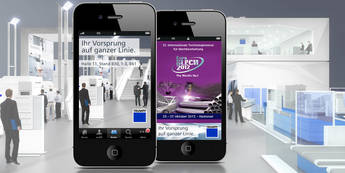 Update der TRUMPF-Messe-App